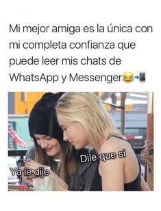 Friends Tumblr Quotes, Friend Tumblr, Bff Quotes, Fact Quotes, Friendship Quotes, Funny Quotes, Funny Spanish Memes, Stupid Funny Memes, Love Phrases