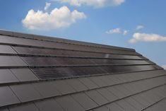 Monier VI90 Solar Roof Tiles, Solar House, Solar Energy, Planer, Facade, Blinds, Skyscraper, Multi Story Building, Villa