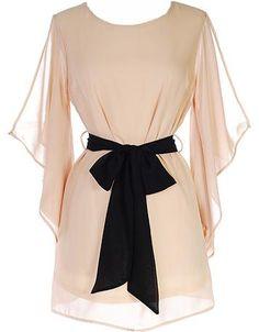 a chiffon dress!