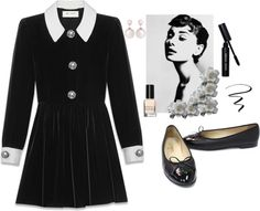 """Wednesday Addams"" by jadefrances on Polyvore"