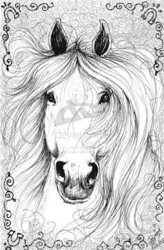 Awsome+horse+drawings | Horse Drawing5- Magical Horse by BlackAngel-Diana