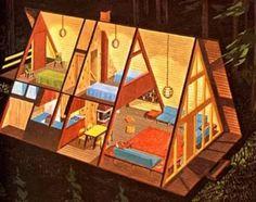 треугольный дом для турбазы дачный домик: 18 тыс изображений найдено в Яндекс.Картинках