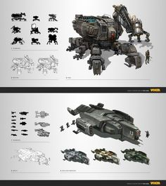 concept mech by ~lingy-0 on deviantART