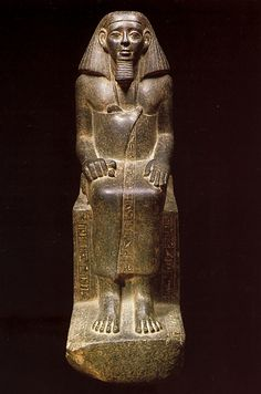 sculpture of the lady sennuwy medium