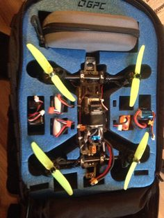 TDR_250_V_9.3 Drone prototype, Nice day lets drone  With FATSHARK fpv