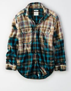 flannel shirt over hoodie, sneakers Clothes For Sale, Custom Clothes, Diy Clothes, Clothes For Women, Bleach Shirt Diy, Diy Shirt, Edgy Outfits, Cute Outfits, Fashion Outfits