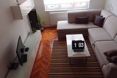 My apartment available for rent in Sarajevo. - Get $25 credit with Airbnb if you sign up with this link http://www.airbnb.com/c/groberts22