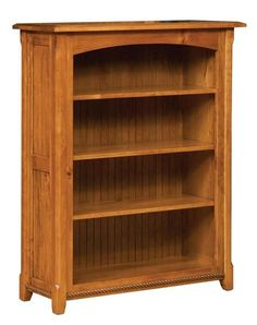 """Amish Ashton Bookcase Pick the perfect size Ashton for your home. Custom built wood bookcase available in 6 sizes ranging from 36"""" to 84"""" tall. Adjustable shelves. Built in choice of wood and stain. Made in America. #bookcase #woodfurniture Office Furniture, Wood Furniture, Quarter Sawn White Oak, White Oak Wood, Amish Country, Office Storage, Made In America, Furniture Collection, Adjustable Shelving"""