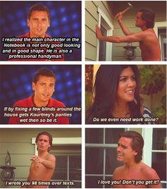 hahaha omg i love scott