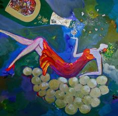 A resin coated acrylic painting by Stephanie Schlatter from the Goddess of Wine Series celebrating the riotous joy of women. Goddess of Sparkling Wine Wine Painting, Painting Art, Chardonnay Wine, Wine Art, Resin Coating, Sparkling Wine, Art Blog, Art Projects, Sparkle