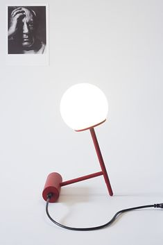 Angular table lamp inspired by Le Courbusier's brutalist architecture #tablelamps #lecourbusier #lighting