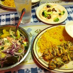Lefteris Gyro Authentic Greek Cuisine. Tarrytown, NY. Simply the BEST Greek salad EVER.