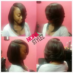 Natural bob sew in. Follow my hair page @norastylez! Visit me at Nora Stylez Studio located 2365 Spring Road Smyrna, GA 30080 Suite 303! Come get a private/personal hairsperience with me! Down the road from Cumberland Mall! Need virgin hair? Visit my website norastylez.luxuryhairdirect.com #BookMe styleseat.com/norastylez 678-790-6430 #VirginHair #AtlSalonSuite #Atl #Atlanta #HairstylistDiaries #hairstylist #AtlantaHairstylist  #SewIn #Units #Wigs #LaceClosure #ClosureUnits #Closures…