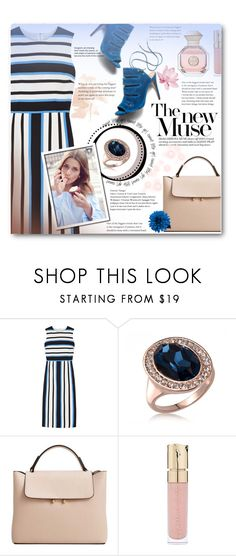 """""""LA MIA CARA COCKTAIL RINGS/Contest with prize"""" by anitadz ❤ liked on Polyvore featuring Dolce&Gabbana, MANGO, Smith & Cult and Tory Burch"""