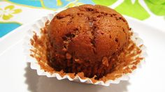 Chocolate Banana Muffins with Chickpea Flour - Moist, packed with protein and best of all: Vegan and Gluten-Free!