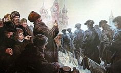 Russians toasting to Peter the Great's victorious Russian troops in the Kremlin, Great Northern War