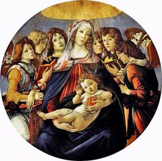 Boticelli - Madonna of the Pomegranate 1437