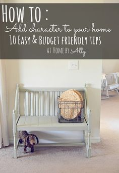Home by Ally: How to: Add character to your home - 10 easy & budget friendly tips