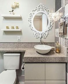 Most beutiful Photos Decoration Gallery and Ideas Bathroom Layout, Bathroom Interior, Small Bathroom, Decoration Inspiration, Bathroom Inspiration, Bath Design, Little Houses, Sweet Home, Room Decor