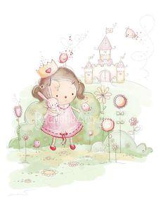 Princess in a Castle