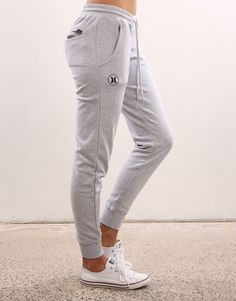 Shop Mens Pants on Jean Jail Sweatpants Outfit Lazy, Joggers Outfit, Grey Joggers, Sporty Outfits, Fall Outfits, Cute Outfits, Fashion Outfits, Hurley Clothing, Lounge Outfit