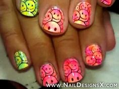 smile nail art
