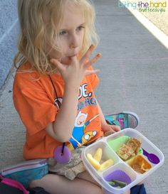 PB Cracker Stackers Lunch. DIY Lunchables packed in @easylunchboxes