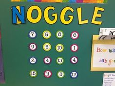 Here's a number version of a Boggle board (Noggle!). Includes students recording sheet.