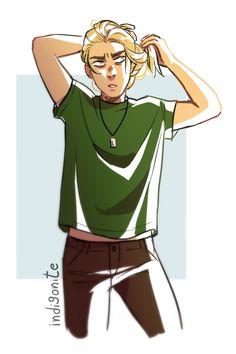 Magnus warm up because i dont draw him enough - by indigonite