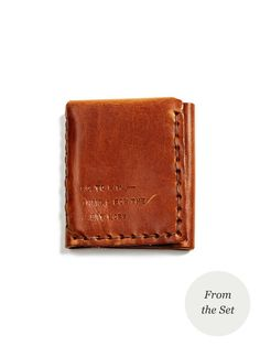 Leather Wallet by The Secret Life of Walter Mitty at Gilt Secret Life, The Secret, Loving You Movie, Beloved Film, Life Of Walter Mitty, Hardy Amies, Ben Stiller, My Unique Style, Kinds Of Clothes