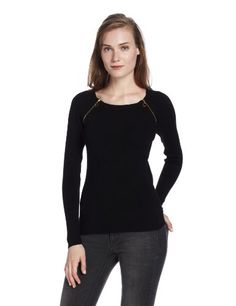 525 America Women's Double Zip Crew Sweater