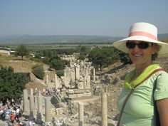 Lola Stoker at Ephesus == http://luxurytravelboutique.cruiseholidays.com/  Looking for a cruise travel agency in Brampton?  Call Cruise Holidays | Luxury Travel Boutique. 855-602-6566  905-602-6566