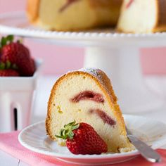 Cream Cheese Pound Cake Recipe | Brown Eyed Baker