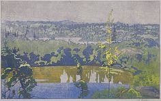 Two Lakes by Walter Joseph Phillips