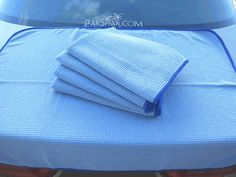 Micropak Microfiber Cloth - highly raved next-gen auto detailing cloth at Autogeek, sold online at Pakshak. The good range includes Waffle Weave in place of chamois for drying, and Ultra Plush in place of foam for buffing.