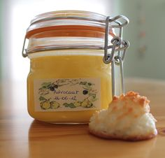 Home made Advocaat and coconut macaroons :-P