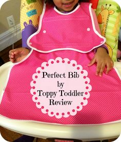 First Time Mom and Losing It: Perfect Bib by Toppy Toddler #Review and #Giveaway!