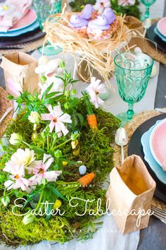 How to Style an Easter Table the Kids Will Love - Red Cottage Chronicles