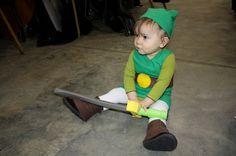 Young Link Costume  The Legend of Zelda Series baby cosplay.