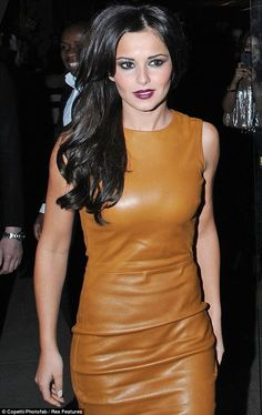 Like butter wouldn t melt! Cheryl Cole goes hell for leather in tight nude  dress at Kimberley Walsh s birthday party 08113df15ec4