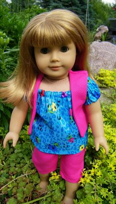 Hip little outfit for your American girl doll by CindyrellasCloset, $16.00