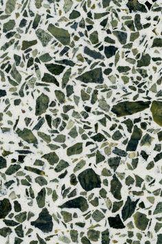 TERRAZZCO Terrazzo Sample S_2015  www.terrazzco.com  #terrazzo #terrazzodesign #design #interiors #whiteterrazzo #flooring