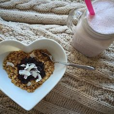 Start your day with heart, with #leanin15-er @thecleaneatingmamma:  #foodporn #livehealthy