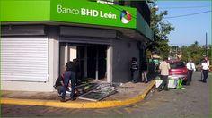 Sargento de la Policia resulta herido al frustrar asalto a sucursal bancaria BHD Monte Plata