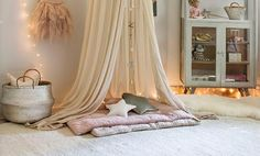Hanging Chair, Canopy, Toddler Bed, Loft, Curtains, Chile, Cool Stuff, Furniture, Decor Ideas