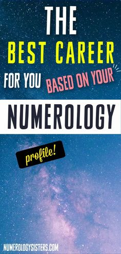 Numerology can help you find the right career based on your life path number, which is determined from your birthdate by calculating the numbers of your birth day down to a single digit. Master Number 11, Finding The Right Career, How To Find Out, How To Become, Different Careers, Sign Meaning, Life Path Number, Career Choices, Angel Numbers