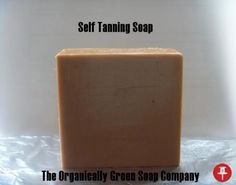 All Natural Self Tanning Soap 3 for $15.00  Ingredients: Saponified organic olive oil, Shea butter, Organic Coconut oil, and Castor oils, Essential oils,  Granulated Sugar, Orange Peel, Cherry Extract, Cocoa Powder, Vanilla Extract , Vitamin E & Love.  How to use: Bath as usual,  then lather skin with the self-tanning soap for 2 minutes, let the soap stay on skin for 5 minutes, then shower off. The skin should begin to get darker with regular use - $15.00