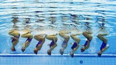 [Imagenes] Competencia de nado sincronizado