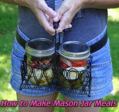 How to Make Mason Jar Meals