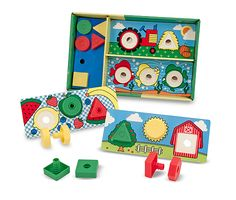 Sort, Match, Attach Nuts & Bolts Boards | Best Toys for 3 year olds | Melissa and Doug